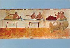 Paestum Tomba del Tuffatore, Lastra sud, Plunger's Grave Southern Plate