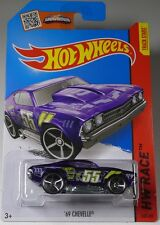 Hot wheels 69 Chevelle Purple L/C