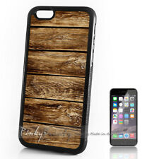 ( For iPhone 4 / 4S ) Back Case Cover P11203 Wood Pattern