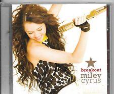 CD ALBUM 12 TITRES--MILEY CYRUS--BREAKOUT--2008