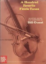 A Hundred Fiddle Tunes - Solos and Duets  Free Shipping!