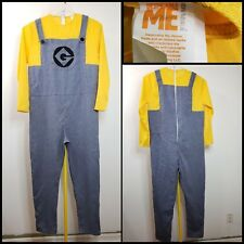 rubies Halloween minions costume size standard yellow and blue