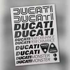 Ducati monster stickers set