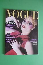 VOGUE Italia LUGLIO  527/1994 NADJA AUERMANN CLAUDIA SCHIFFER THE REAL BARBIE