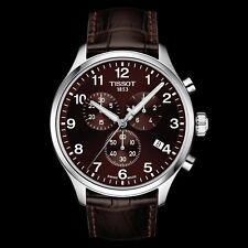 authentic TISSOT CHRONO XL CLASSIC brown dial men's watch T116.617.6.297.00