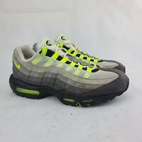 Nike Air Max 95 OG Neon 2015 Mens Shoe Size 11.5 Gray Black Volt Running Sneaker