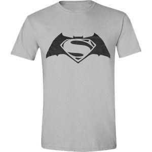 Batman v Superman Logo T-Shirt Official Merchandise M/L/XL OVP & Neu