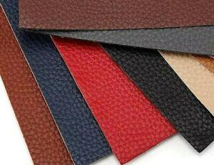 auto-adhésif Patch en cuir pour réparation vêtements canapé 12 couleurs tissu