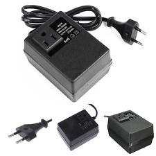 200W Voltage Converter Transformer 220V to 110V Step Down Travel EU Plug Adapter
