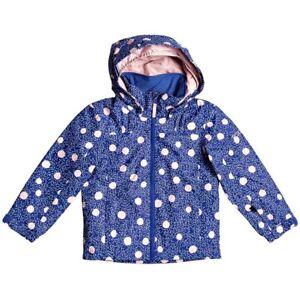 Girl's ROXY Mini Jetty Snow Jacket Little Girls Insulated Hooded Winter Coat