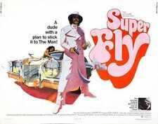 Super Fly Poster 02 Metal Sign A4 12x8 Aluminium