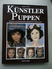 Künstlerpuppen Werkbuch Dokumentation zeitgenössischer Puppenmacher 1986 Puppen
