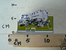 STICKER,DECAL CHV MENGVOEDERS CEHAVE VEGHEL TRACTOR