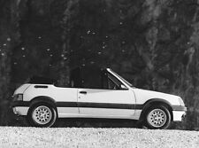 PHOTO PRESS ORIGINALE INDUSTRIE PININFARINA PEUGEOT 205 CABRIOLET - 1986