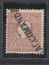 FRANCOBOLLI 1859 LOMBARDO VENETO 10 SOLDI II° TIPO RACCOMANDATA C/8747