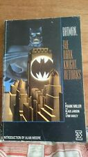 *First Edition* Batman: The Dark Knight Returns graphic novel Frank Miller Titan
