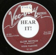 Wade Flemons R&B 45 (VeeJay 321) Slow Motion / Walking By The River