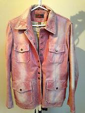 Danier woman's red leather jacket