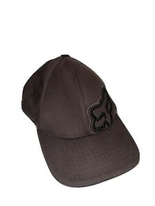 Brown Fox Racing Hat Youth Boys Flex Fit-One Size!  Excellent Clean Condition!