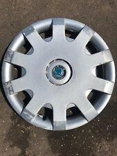 "Skoda Octavia Roomster Fabia 15"" Single Wheel Trim"