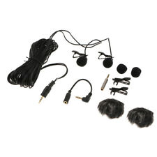 Micro-cravate laveur à double tête avec système de clipsage pour