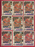 9 X 1977-78 OPC # 91 MONTREAL CANADIENS BILL NYROP CARD