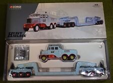 CORGI CLASSICS 17601 HEAVY HAULAGE HILLS OF BOTLEY SCAMMELL AND LOW LOADER