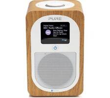 Pure Evoke H3 PORTABLE DAB/FM BLUETOOTH RADIO HORLOGE - Chêne