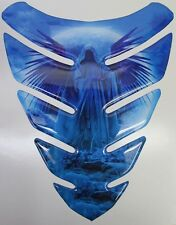 Grim Reaper Moon Sea Blue 3D Gel Resin Tank Pad