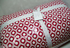 Pottery Barn Cranberry Red Lucca King Comforter New