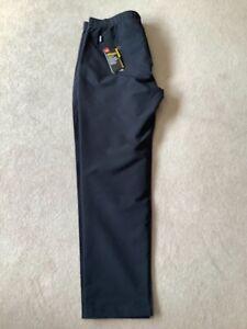 Men's Black Under Armour ColdGear Golf Trousers Size 34/34 New