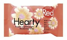Padico Hearty Super Light Weight Modeling Clay 50g Colorful From Japan Red