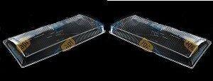 DAEWOO Nexia ; Cielo Headlight Glass Lens PAIR ( Left + Right ) 1995 - 1998