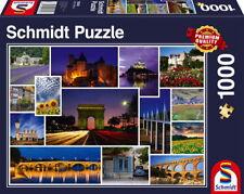 1000 Teile Schmidt Spiele Puzzle Mach mal Urlaub in... Frankreich 58340