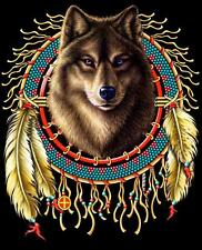 WOLF HEAD IN DREAM CATCHER  TEE SHIRT SIZE XXL adult T275 tshirt NEW mens womens