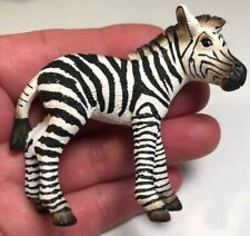 Zebra Figurine Schleich Germany Collectible Toy 2.75x2.5� Action Figure Am Limes