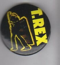 T REX BUTTON BADGE English Glam Rock Band - 20th Century Boy - Marc Bolan 25mm