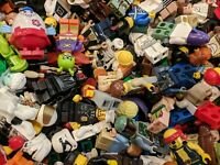 100% GENUINE LEGO LOT OF 10 MINIFIGURES RANDOMLY PICKED STAR WARS SUPER HEROES
