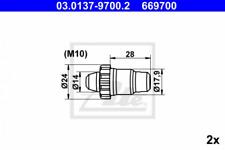 Reparatursatz, Automatische Nachstellung Hinterachse ATE 03.0137-9700.2