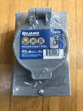 New listing Reliance Controls Pb30 30 Amp Nema 3R Power Inlet Box for Generators Up to 8 000