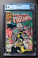 NEW MUTANTS #8 first Amara Aquilla MAGMA 1983 20th Century Fox Movie CGC NM+ 9.6