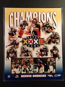 DENVER BRONCOS Super Bowl XXXII  CHAMPIONS 8x10 Photo