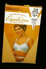 NOS 32B VTG 1960s 1970s SEAMLESS CUP BRA Smooth'n Soft Exquisite Form P3360 70s