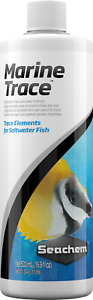Seachem Marine Trace 500ml Broad Range Trace Elements for Saltwater Reef Fish