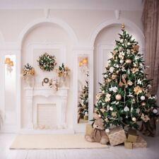 8x8ft Gorgeous Christmas Tree Background Home Decor Photo Backdrop Studio Prop