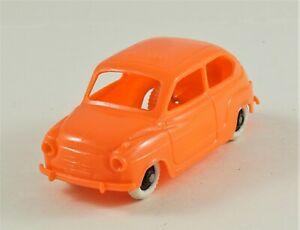 """CLE - 1/48 - FIAT 600 """"BONUX"""" - ORANGE"""