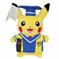 "Doctor Graduation Pokemon Pocket Monster 10"" Plush by Pikachu Fast Shipping"