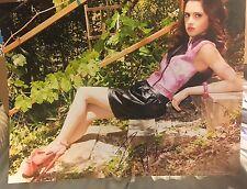 Laura Marano Signed 11x14 Photo Autograph Disney Austin And Ally M3 Beckett COA