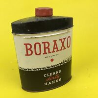 Vintage Borx Boraxo 20 Mule Team 8oz Hand soap tin