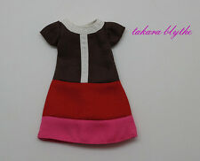 "1PC 12"" Blythe Doll Factory  Blythe's Original Simply Chocolate's Outfit JS61"